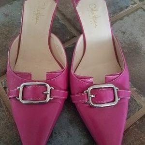 Cole Hann hot pink pumps